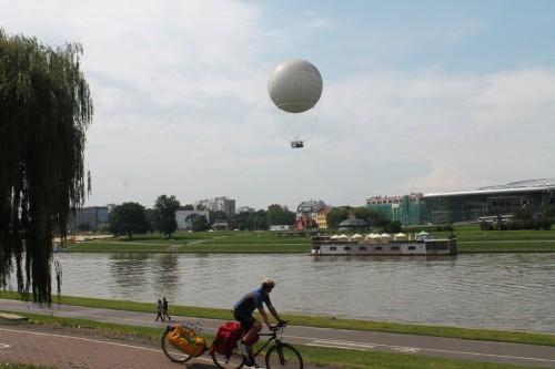 vistula nehri balon turu