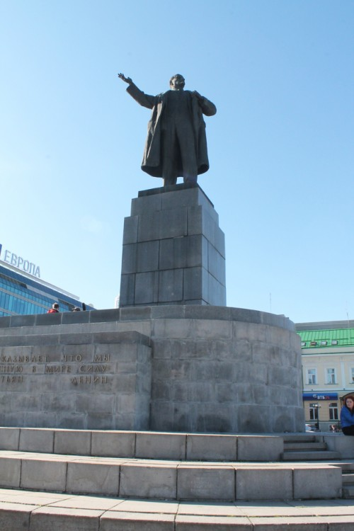 rusya lenin heykeli
