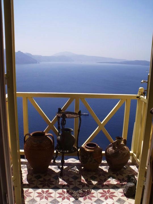 santorini balkon