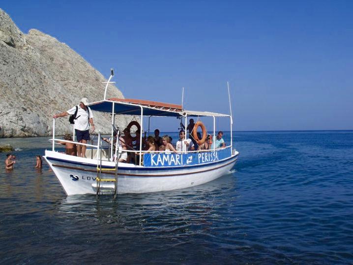 santorini tekne gezisi