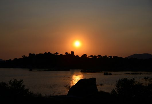 Bafa'da Güne Veda
